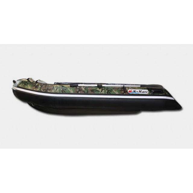 Лодка Sun Marine SA-380 IB, цвет серый