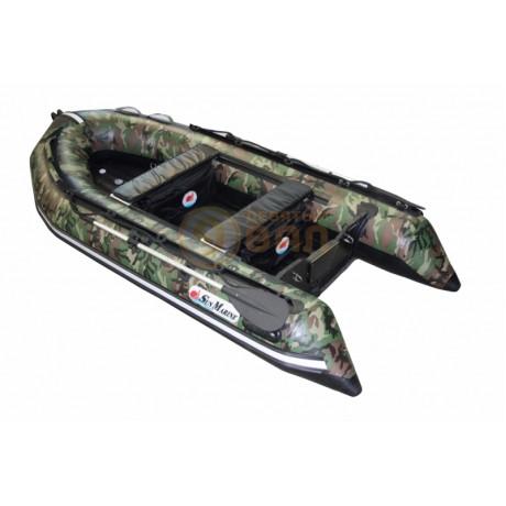 Лодка Sun Marine SA-420 IB, цвет серый