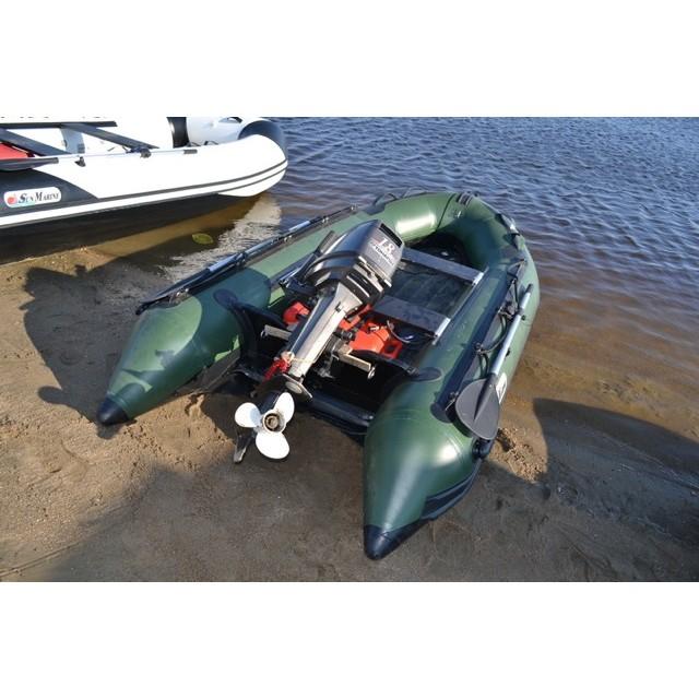 Лодка Sun Marine SA-380 IB, цвет темно зеленый