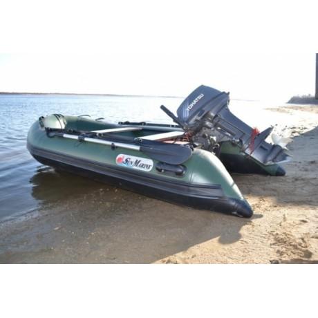 Лодка Sun Marine SA-420 IB, цвет синий