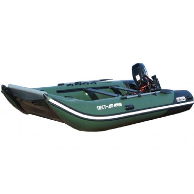 Лодка катамаран Sun Marine SH-330, цвет синий