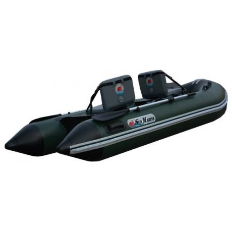 Лодка Sun Marine SA-360, цвет темно зеленый