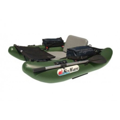 Лодка Sun Marine ZF-145H, цвет темно-зеленый