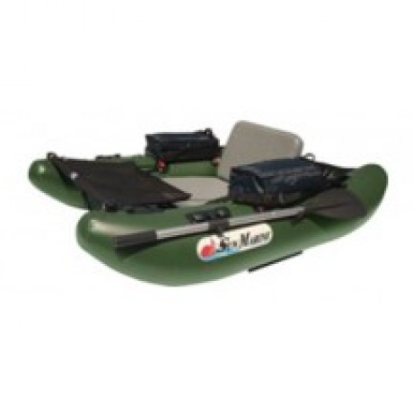 Лодка Sun Marine ZF-148V, цвет темно-зеленый