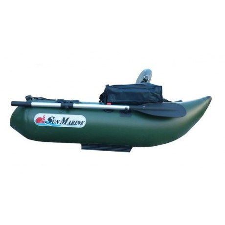 Лодка Sun Marine ZF-158VH, цвет темно-зеленый