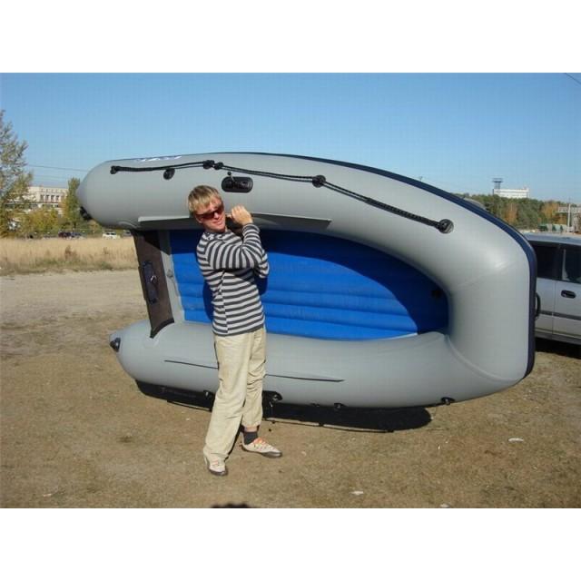 Лодка Solar-310, светло-серый