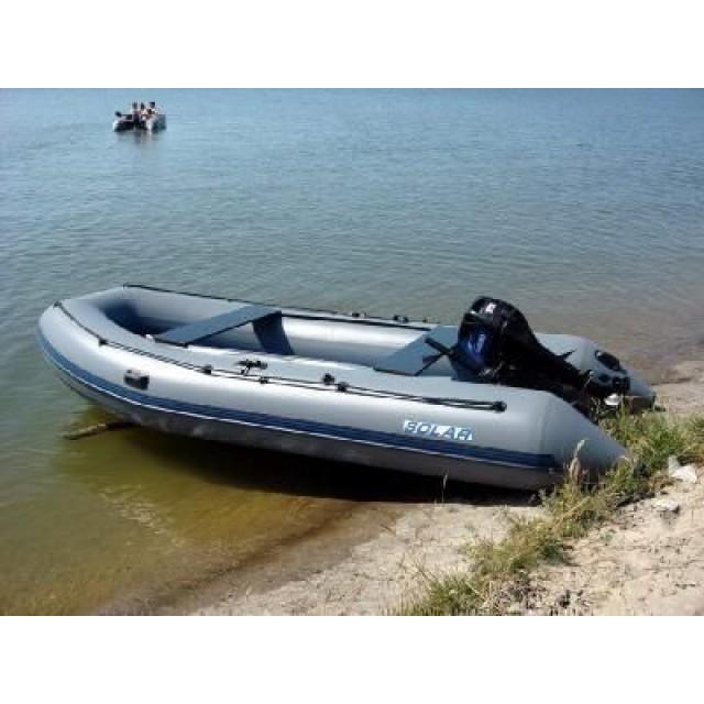Лодка Solar-420 JET,, Нерюнгри тёмно-синий