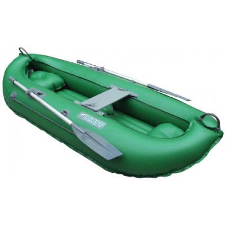 Лодка Скиф 2LUX цвет зелёный