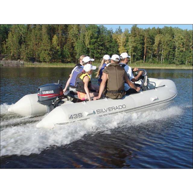 Лодка Silverado Sport 43S, алюм. пол