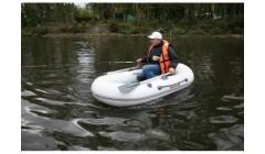 Лодка - TUZ-240 натяжное днище, серый