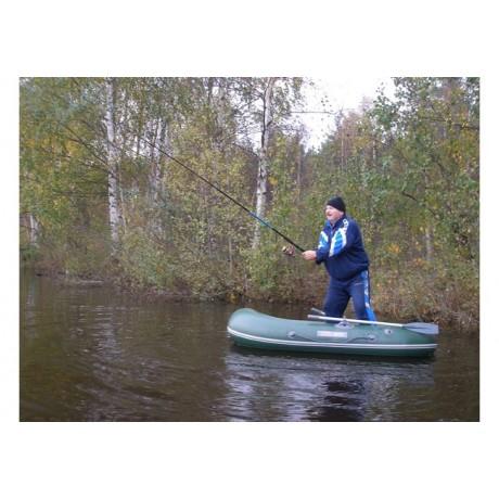 Лодка - TUZ-240 надувное днище, оливковый