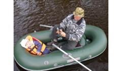 Лодка - TUZ-240 надувное днище, серый