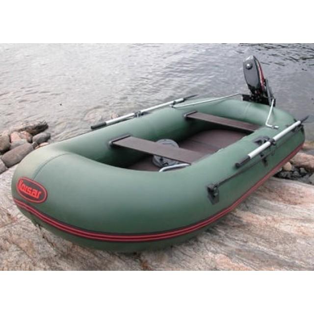 Лодка - TUZ-280 с пайолами, оливковый