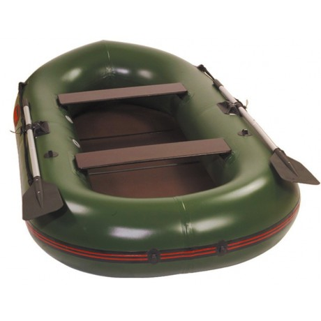 Лодка - TUZ-320 с пайолами, оливка
