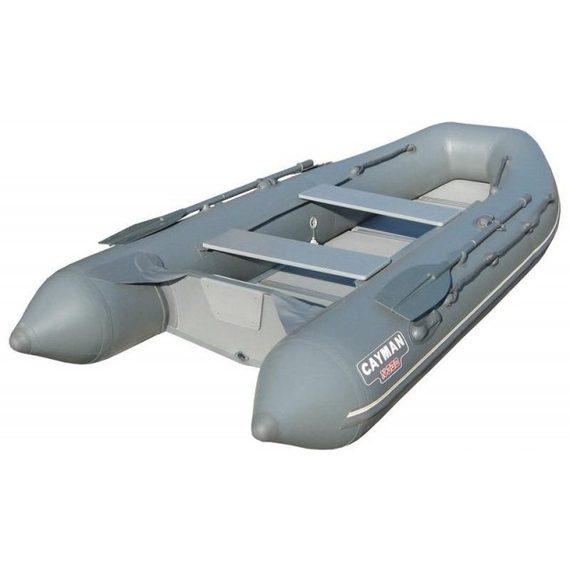 Лодка - Лодка кайман N-330, серо-синий
