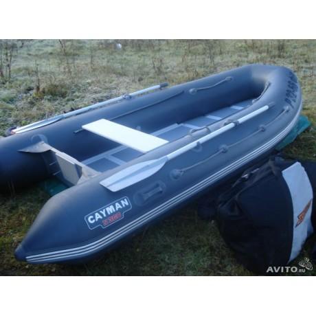 Лодка - Лодка кайман N-360, серо-темно-серый