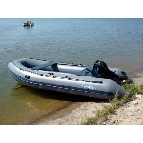 Лодка Solar-420 JET,, Нерюнгри светло-серый