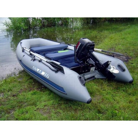 Лодка Solar-350, светло-серый