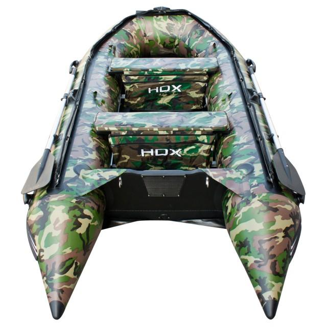 Лодка HDX серии Carbon 240, цвет камуфляж