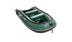 Лодка HDX серии Carbon 240, цвет зеленый