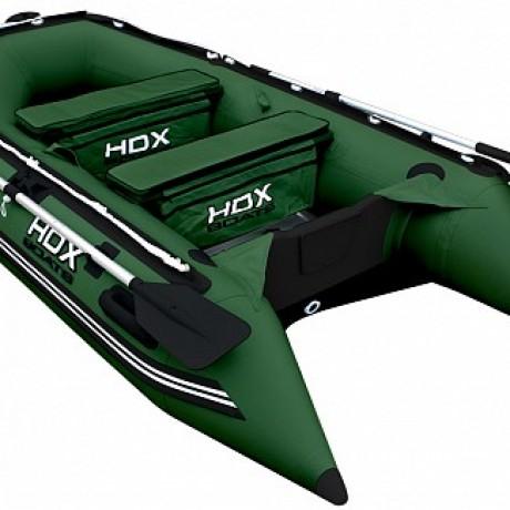 Лодка HDX серии Carbon 280, цвет зеленый