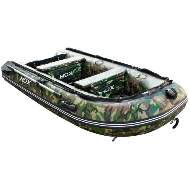 Лодка HDX серии Carbon 280, цвет камуфляж