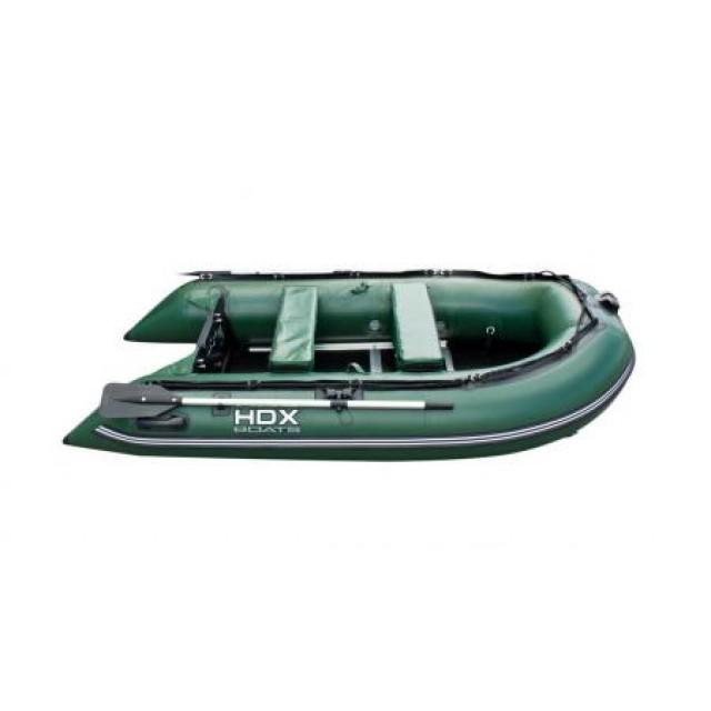 Лодка HDX серии Carbon 370, цвет зеленый