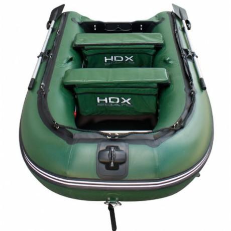 Лодка HDX серии Oxygen 330, цвет зеленый
