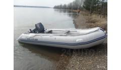 Лодка Solar-400МК, светло-серый