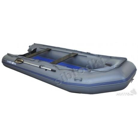 Лодка Solar-450 JET, светло-серый