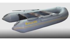 Лодка CatFish 290, серый цвет