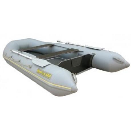 Лодка CatFish 340, серый цвет
