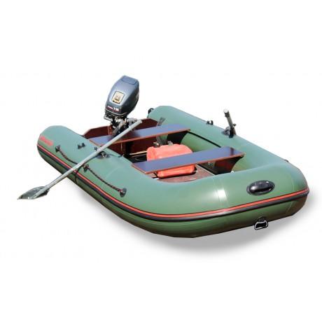Лодка CatFish 340, оливковый цвет