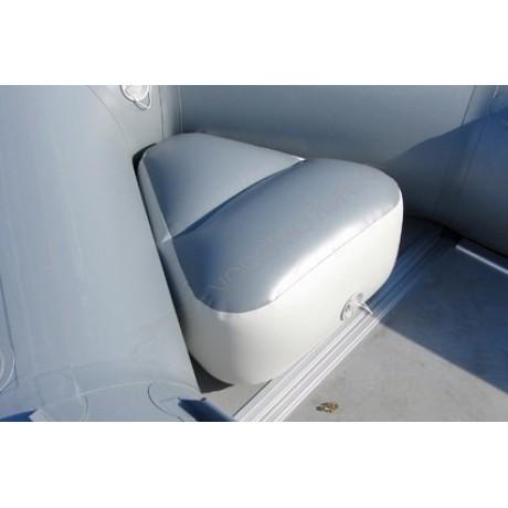 Надувное сиденье в нос лодки, 70х46х29 см