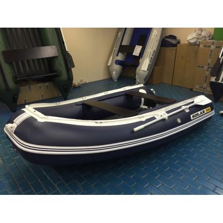 Лодка Solar-330, тёмно-синий