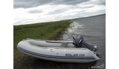 Лодка Solar-330, светло-серый