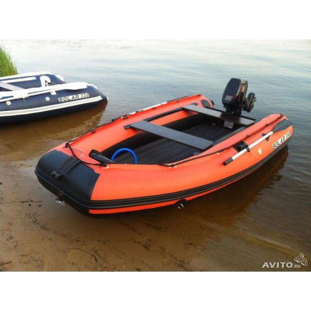 Лодка Solar-350, оранжевый