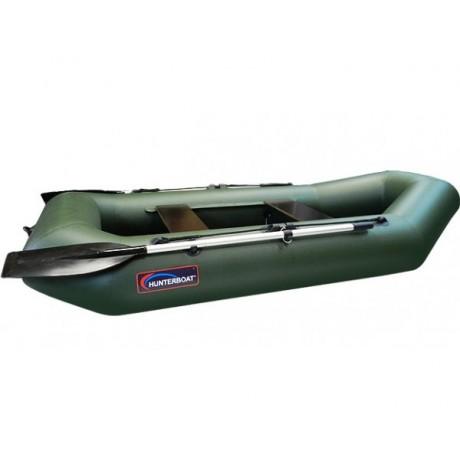 Лодка Хантер 250 МЛ, цвет зеленый