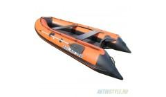 Лодка Solar-380 JET, оранжевый