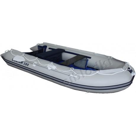 Лодка Solar-380 JET, светло-серый