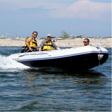 Лодка Solar-500 Jet, Хамсара, светло-серый