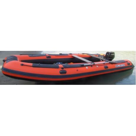 Лодка Solar-555, МК, оранжевый