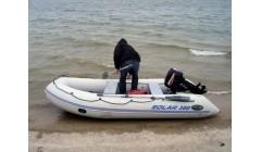Лодка Solar-380 К, светло-серый