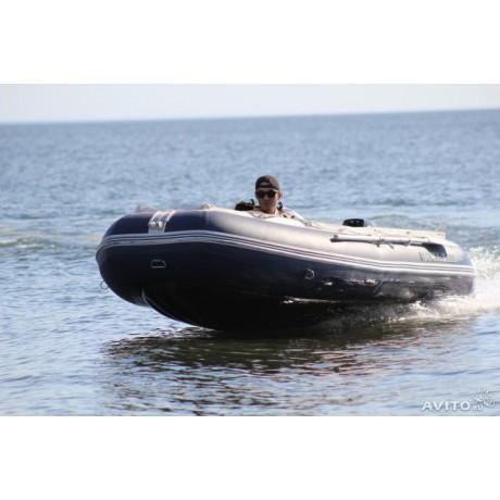 Лодка Solar-380 К, тёмно-синий