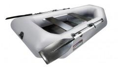 Лодка Хантер 250 МЛ, цвет серый