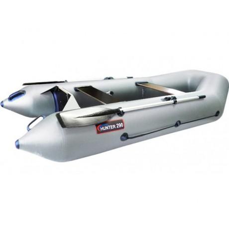 Лодка Хантер 290 Р, цвет серый