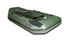 Лодка Хантер 280 Л, цвет зеленый