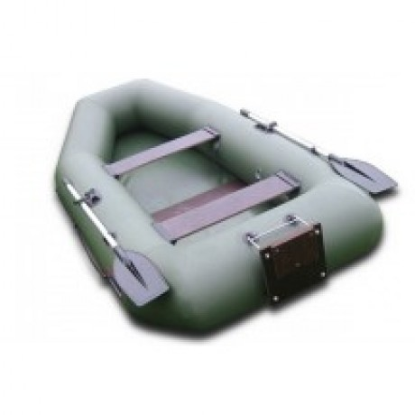 Лодка Хантер 280 Р, цвет серый