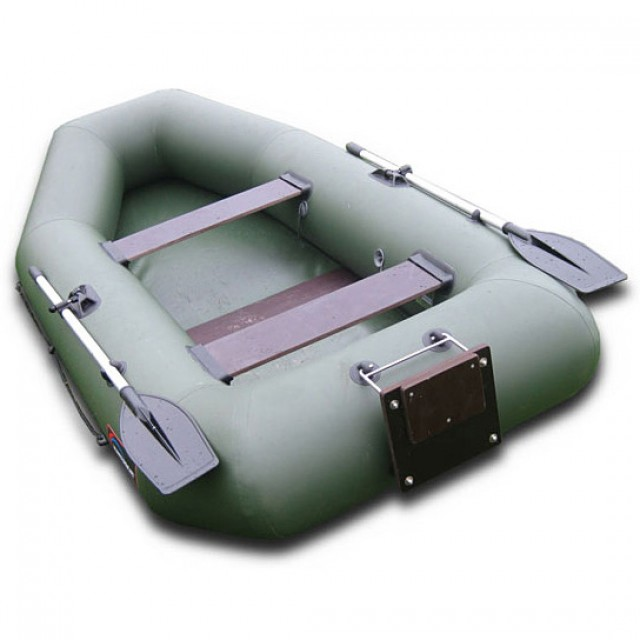 Лодка Хантер 280 Т, цвет серый