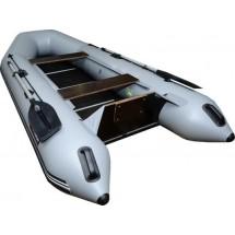 Лодка Хантер 290 Л, цвет серый